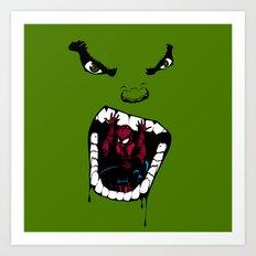 Hungry Hungry Hulk // Original Art Print