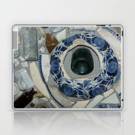 Glass Bits and Pieces Laptop & iPad Skin