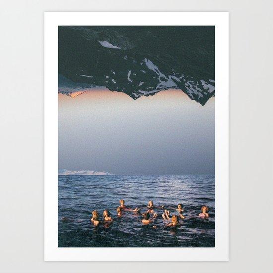 Summer never ends. Art Print