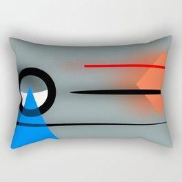 Soft meets hard ... Rectangular Pillow