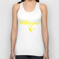 puerto rico Tank Tops featuring We Bomb Puerto Rico by Grime Lab