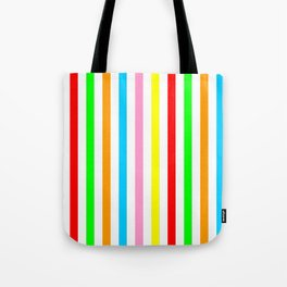 multicolor columns-mutlicolor,abstraction,abstract,fun,line,geometric,geometrical,columns, Tote Bag