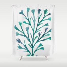 Watercolor Ocean Life V Shower Curtain