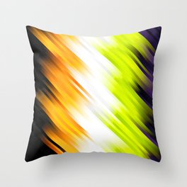 stripes wave pattern 7v1 std Throw Pillow