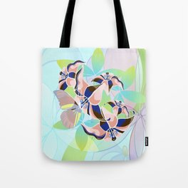 Tanz der Lilien - Dance of the Lilies Tote Bag