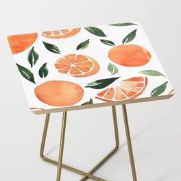 Summer oranges Side Table