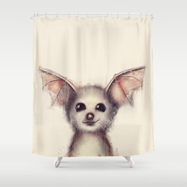 What the Fox? Shower Curtain