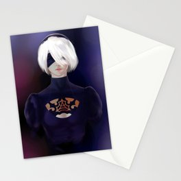 2B YoRHa Stationery Cards