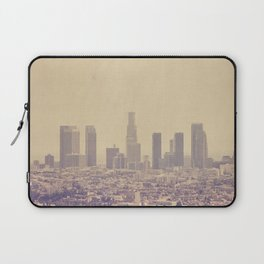 Los Angeles Skyline Photo. Southland Laptop Sleeve