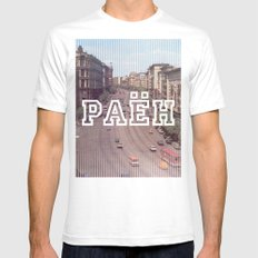 PAEH2 SMALL Mens Fitted Tee White