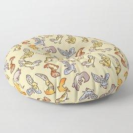 Geckos Floor Pillow