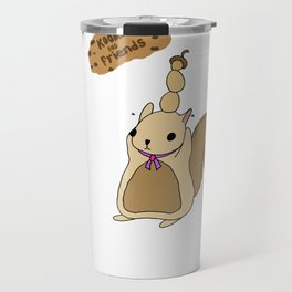 Kookie the Bear and Friends Travel Mug