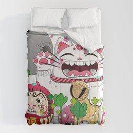 Maneki-neko in the magical world Comforters