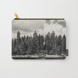 Far Away Clouds Passing By Carry-All Pouch