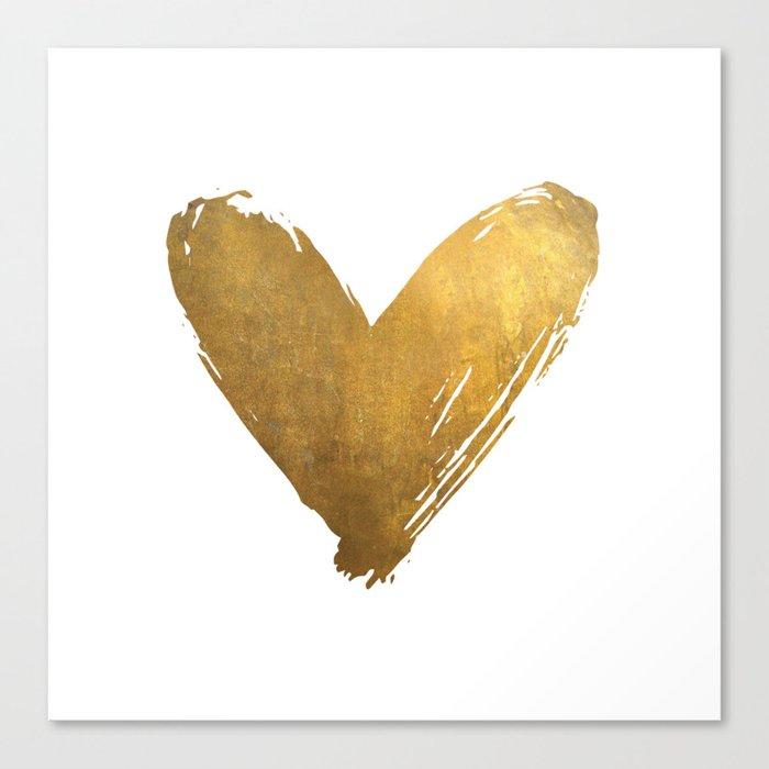 Heart of Gold Leinwanddruck