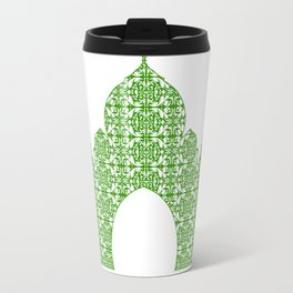 Taj Mahal Art Travel Mug