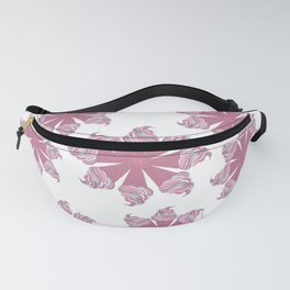 Ice Cream Cone Swirls Fanny Pack
