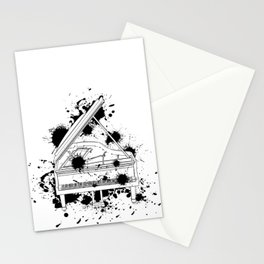 Piano Player Musician Pianist Gift  Stationery Cards