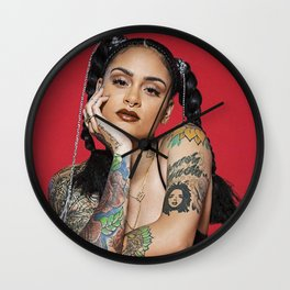 Kehlani Wall Clock