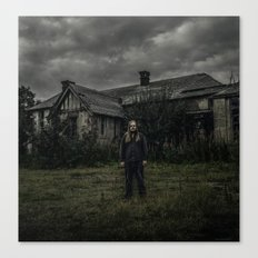 The Abandoned Place (120mm Rolleicord) Canvas Print