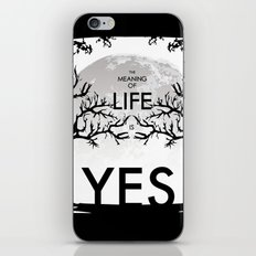 The Meaning Of Life iPhone & iPod Skin