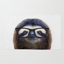 Hipster Sloth Rug