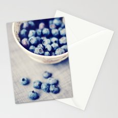 Fresh Blueberries Kitchen Art Stationery Cards