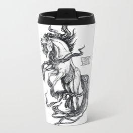 Mythological horse Sleipnir Travel Mug