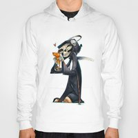 kitty Hoodies featuring Kitty by tipa graphic