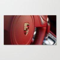 porsche Canvas Prints featuring Porsche by Grafiko