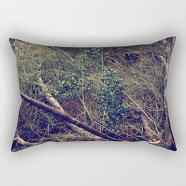 Tangled in the forest Rectangular Pillow