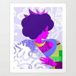 Queen's Robe Art Print