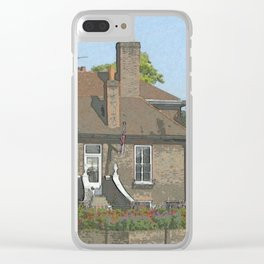 A Place in Surrey DPPA140806a Clear iPhone Case