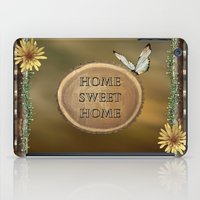 home sweet home iPad Cases featuring Home Sweet Home by LLL Creations