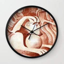 Sphinx guard of Moon Wall Clock