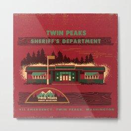SHERIFF'S DEPARTMENT Metal Print