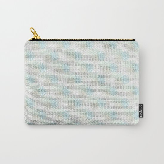 Flowers pattern motif Carry-All Pouch