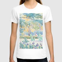 Garden of the Painter at Saint Clair by Henri-Edmond Cross 1908, French T-shirt