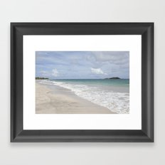 Caribbean days Framed Art Print