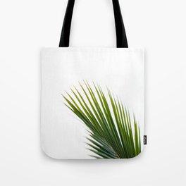 Single Palm Leaf Tote Bag