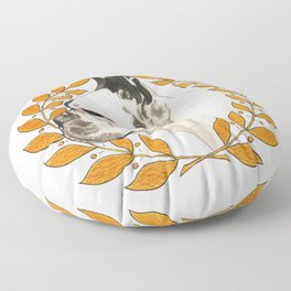 French Bulldog - @french_alice dog Floor Pillow