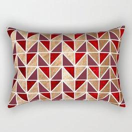 Xmas Geometric Pattern Rectangular Pillow