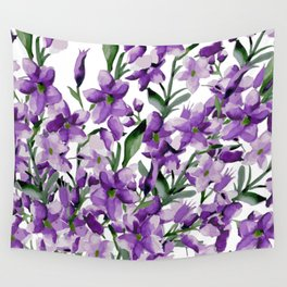 Lilac. Watercolor Wall Tapestry