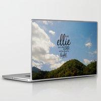 ellie goulding Laptop & iPad Skins featuring Ellie by KimberosePhotography