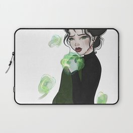 Green Flame Laptop Sleeve