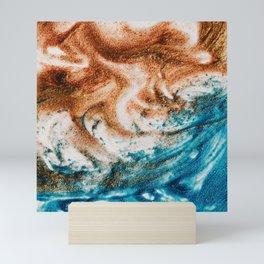 Colorful Sand Ocean Mini Art Print
