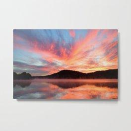 Glory: A Spectacular Sunrise Metal Print