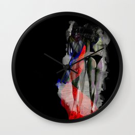 From Paris with Love Wall Clock
