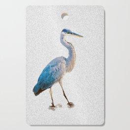 Blue Heron Silhouette Cutting Board
