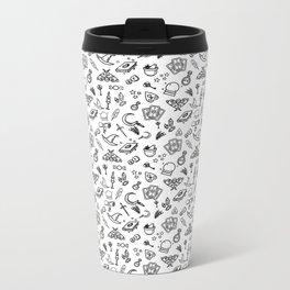 Modern Witch - White Metal Travel Mug